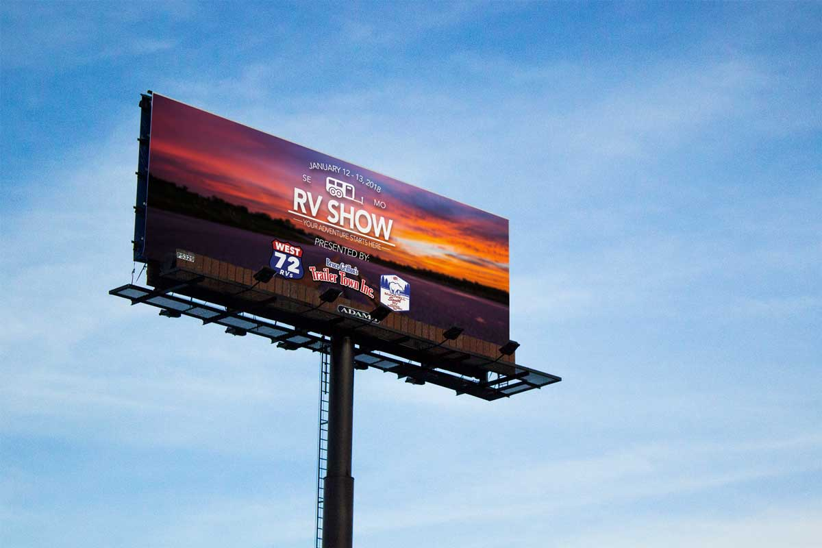 SEMO RV Show Billboard