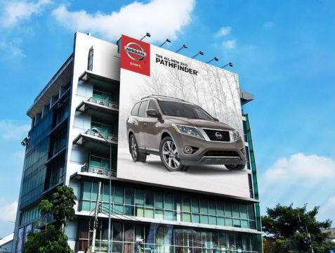 Nissan Outdoor Campaign